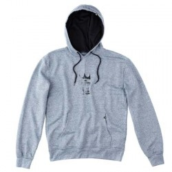 scratch king hoodie - navy
