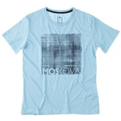 scratch signature tee - blue