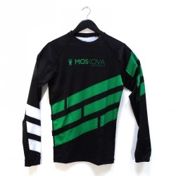 WVSN X Moskova training rashguard - Bold stripes