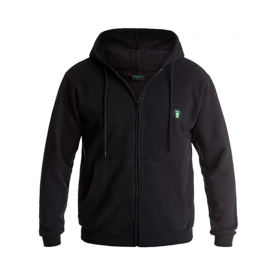 Moskova performance Zip hoodie - Black