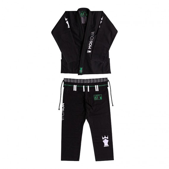 2017 BJJ GI - Black/White