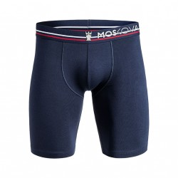 m2 cotton long - Navy stripes