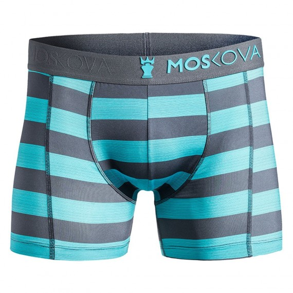 m2s polyamide - Heather Stripes Blue