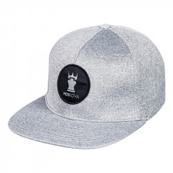PATCH CROWN HAT Grey/Black