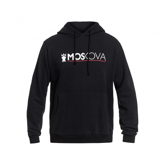 Moskova performance hoodie - Black/White