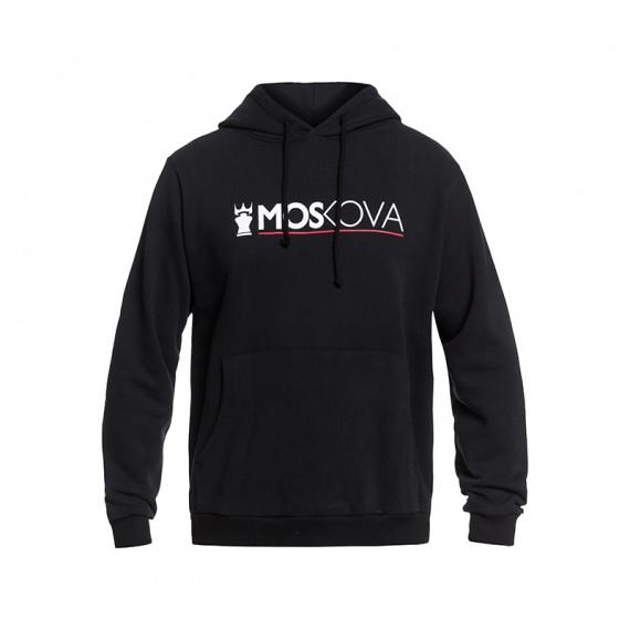 Moskova performance hoodie - Black/White