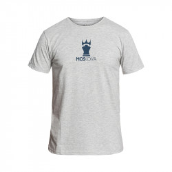 Tee Corpo Crown Heather Grey/Navy