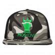 TRUCKER HAT CAMO CROWN Black/Green