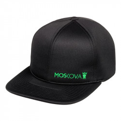 FULL HAT - SIDE SCRIPT Black/Green