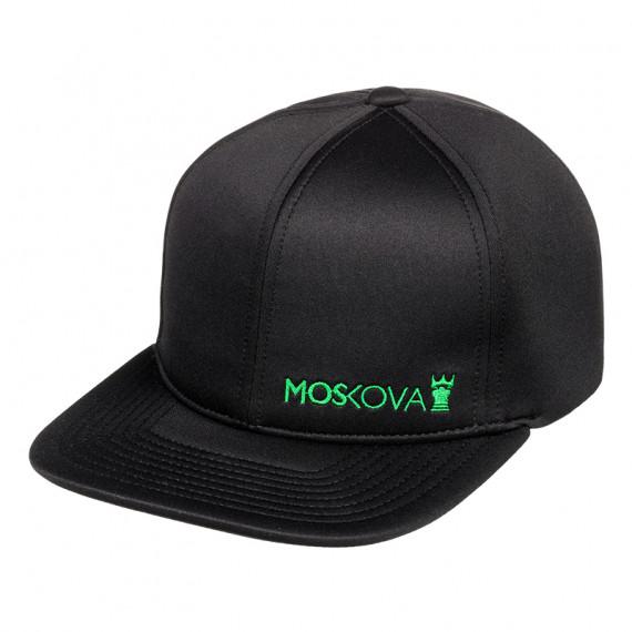 FULL HAT - SIDE SCRIPT Black/Green