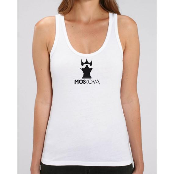Tank Women Corpo Crown White/Peach