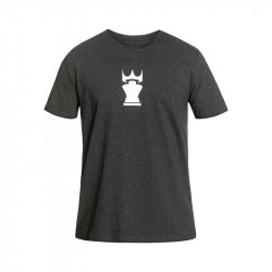 Tee Crown Heather Anthracite/White