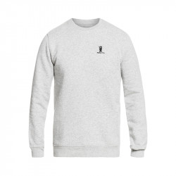 MOSKOVA CREW NECK HEATHER GREY / BLACK