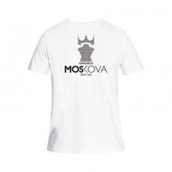 T-SHIRT BACK CROWN Repeat White