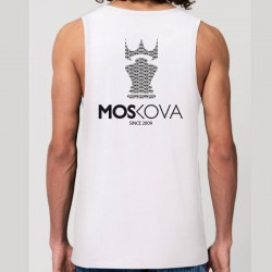 TANK TOP BACK CROWN White Repeat