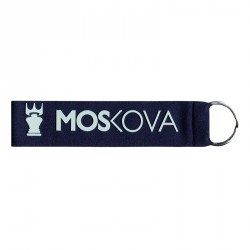 keyring - Stripe Blue