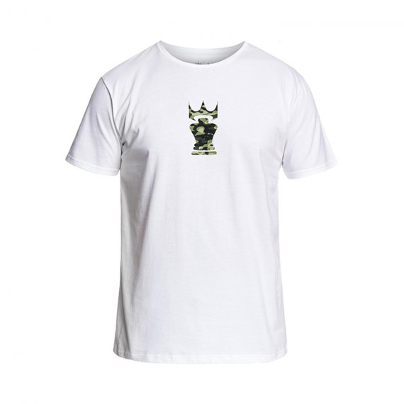 CamoCrown Tee - White
