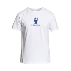 CorpoCrown Tee - White Blue