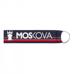 keyring - Navy Stripes