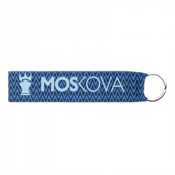 keyring - Heather Blue