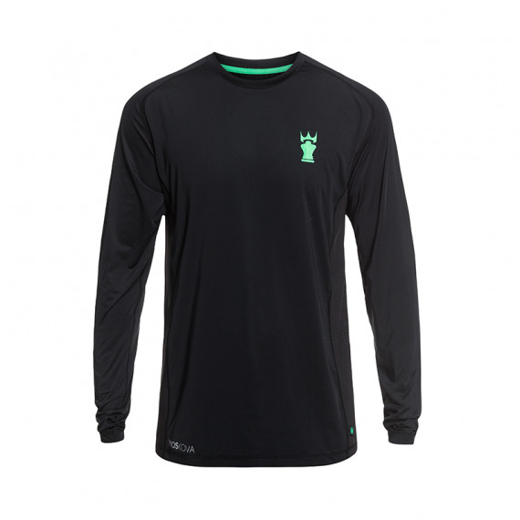Tee-Shirt Sport Dryfit Manches Longues Black